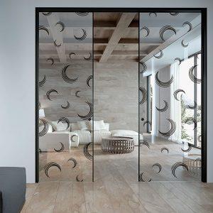 Puerta autoatica para el hogar