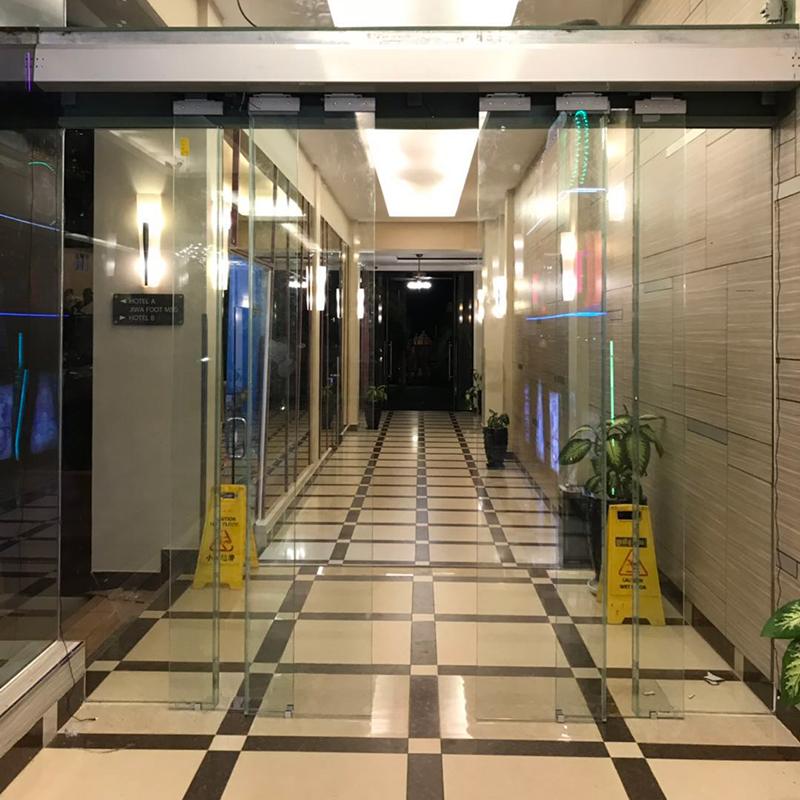 puerta automatica alse uso comercial